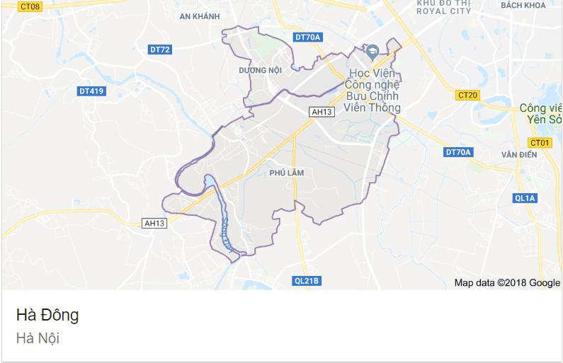 Quận Hà Đông - Hà Nội