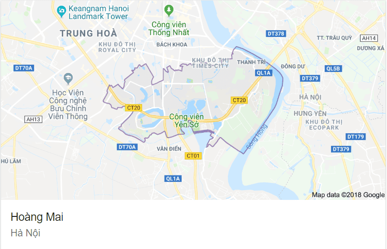 Quận Hoàng Mai