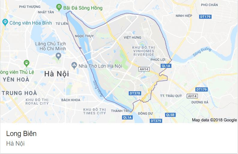 Quận Long Biên - Hà Nội