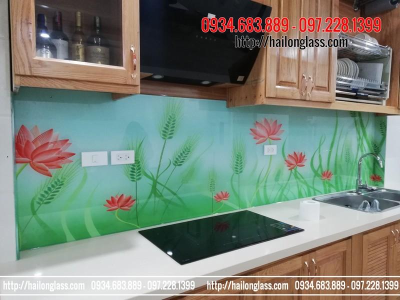 Kính ốp bếp 3D mã B87