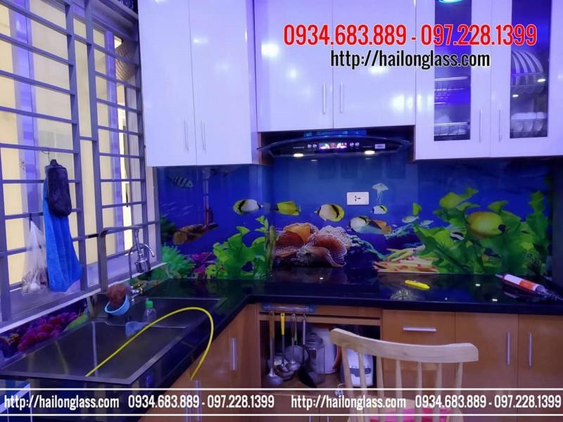 Kính Ốp Bếp 3D Hải Long