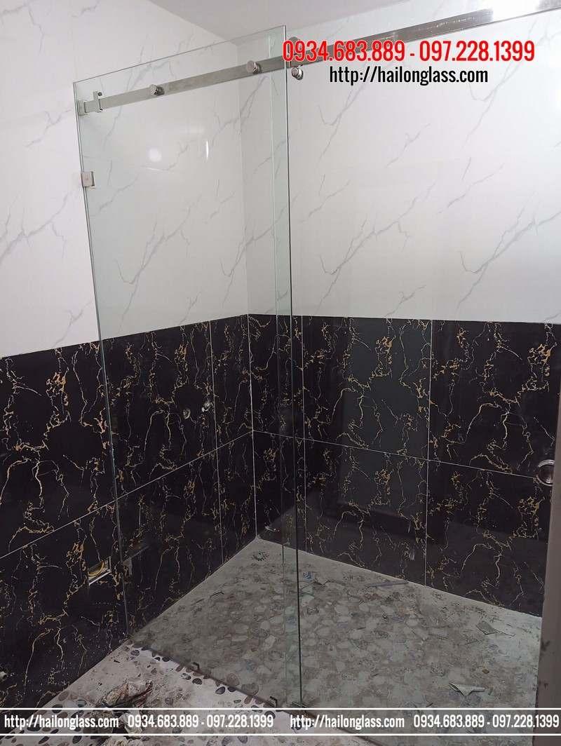 """Kính phòng tắm lùa 10""""30 Phụ kiện VVP 304"""