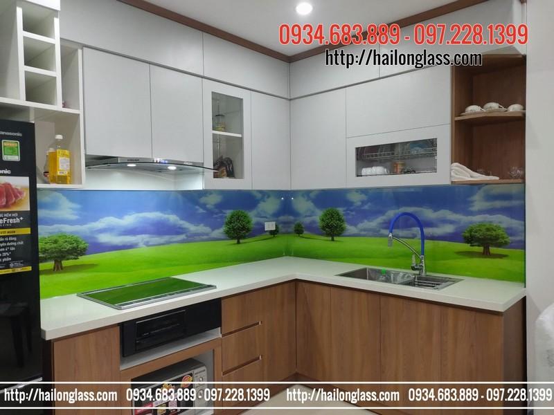 Ốp Bếp 3D Thi Công Tại Long Biên mã TOB 022