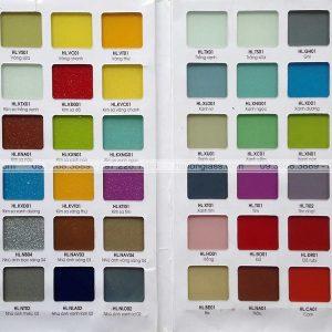 Bảng màu kính bếp Hải Long