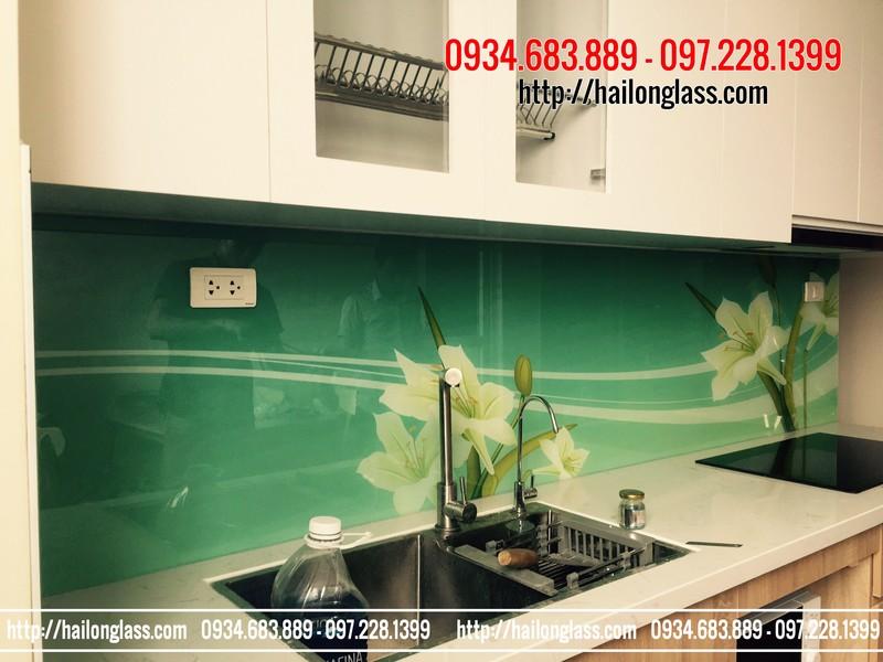 Kính ốp bếp 3D Hà Nội