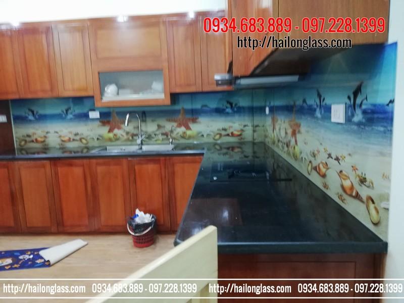 Kính Bếp 3D đẹp tại Hà Nội mã TOB mã 089